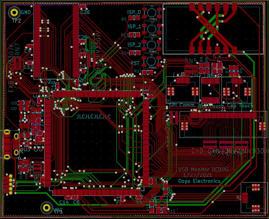 LPC54528 board